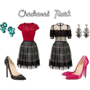 trend-alert-plaid-skirt-lace-blouse-spike-heels