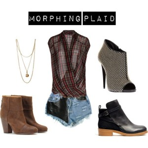 trend-alert-plaid-blouse-with-leather-and-deim