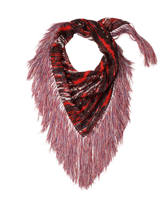 isabel-marant-hm-red-scarf