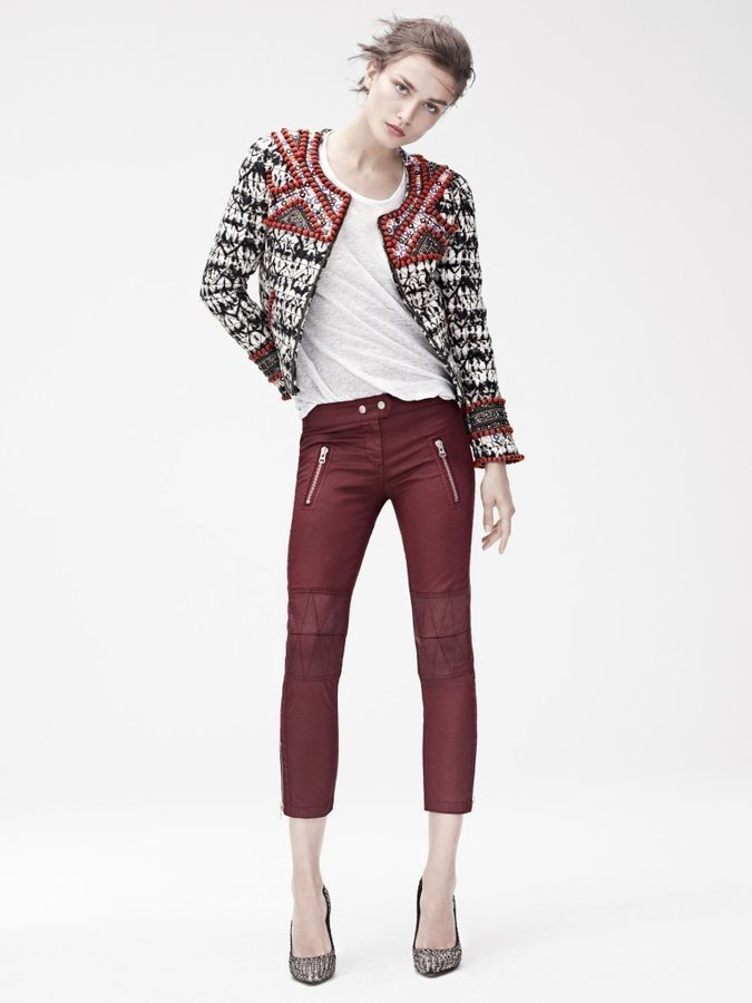 isabel-marant-hm-red=pants-look