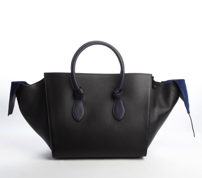 celine-navy-black-knot-bag