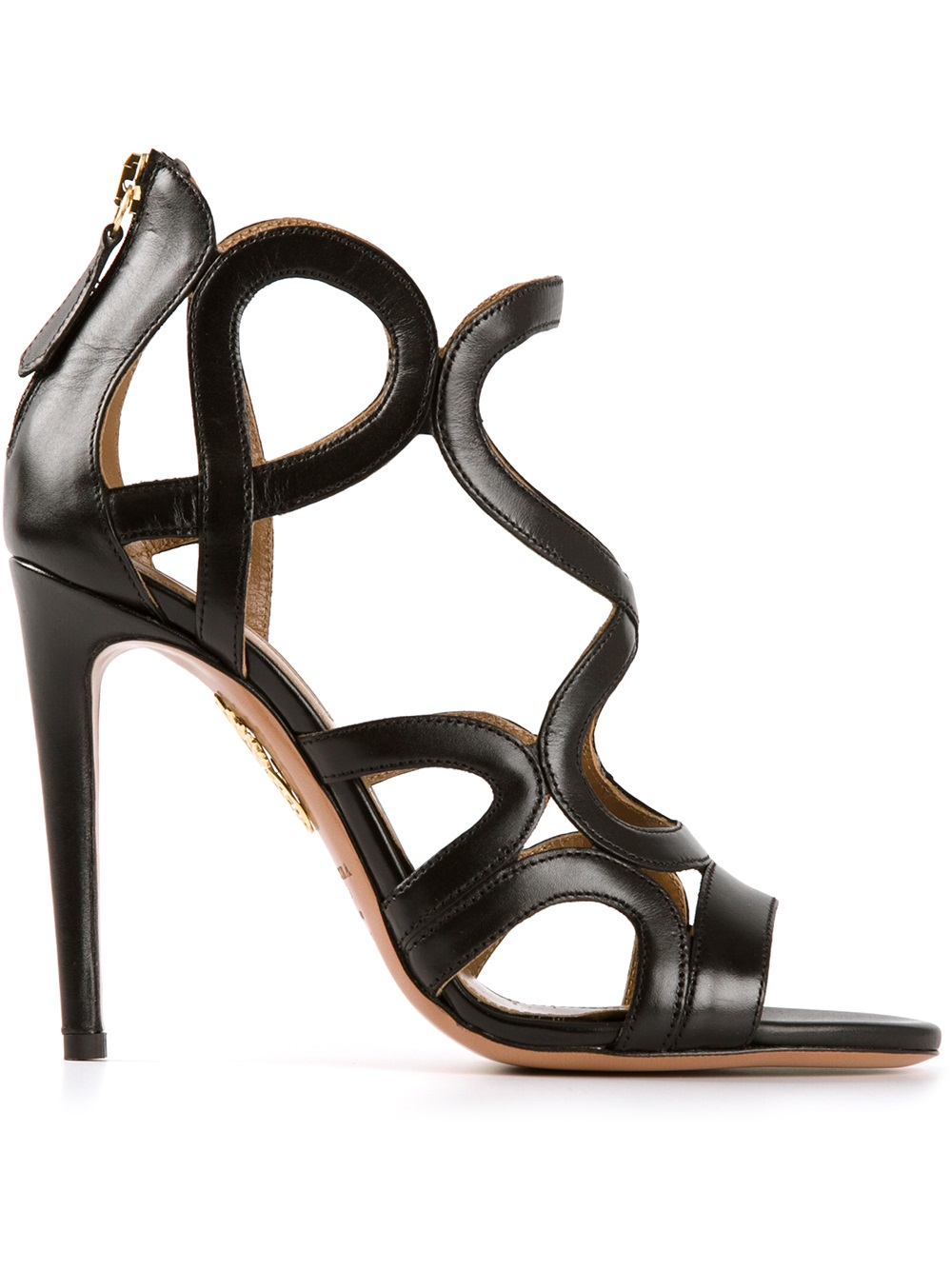 Aquazzurastrappy hight heel sandal