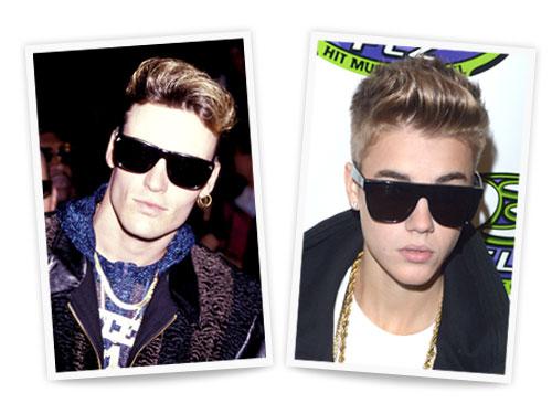 Vanilla Ice and Justin Bieber
