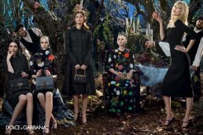 Claudia Schiffer & Bianca Balti Star In Dolce & Gabbana Fall 2014 Campaign