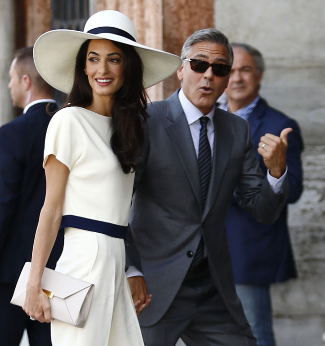 amal-george-thumbs-up