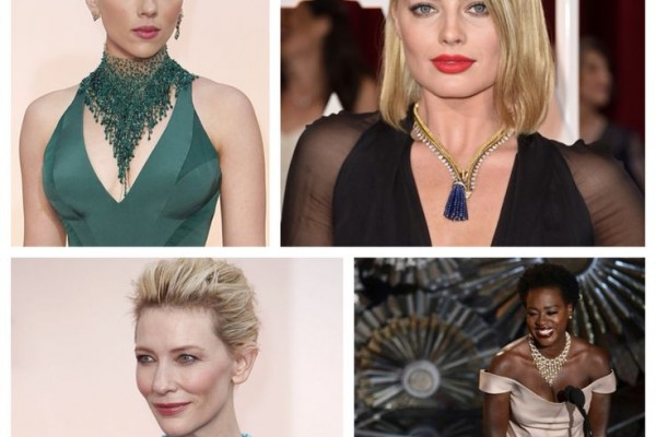 statement necklaces oscars 2015