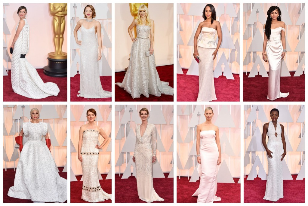 white at the oscars